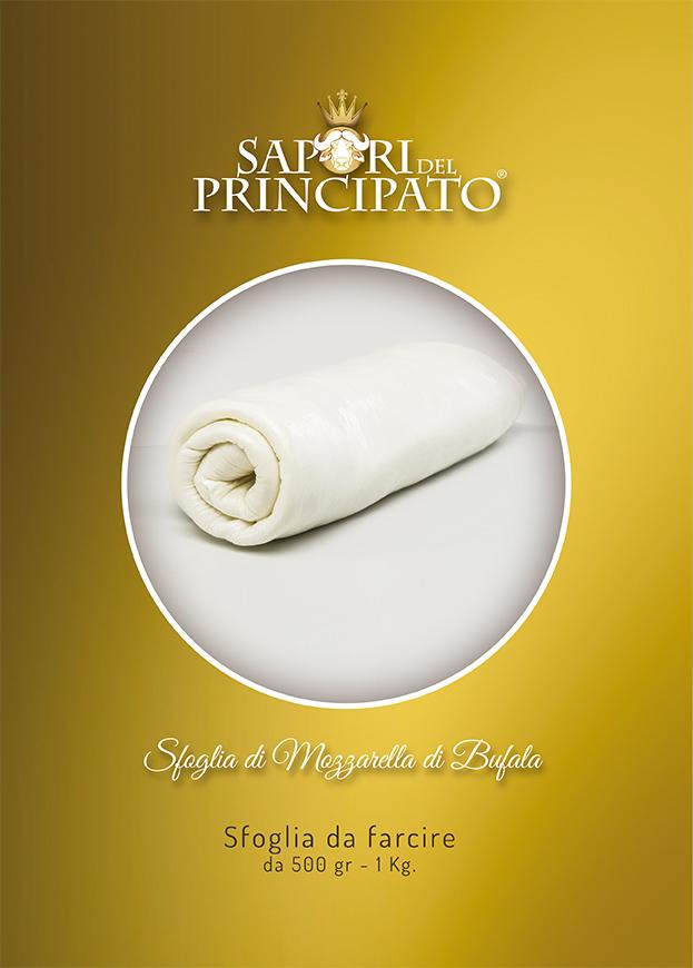 Sfoglia di Mozzarella di Bufala - Portfolio